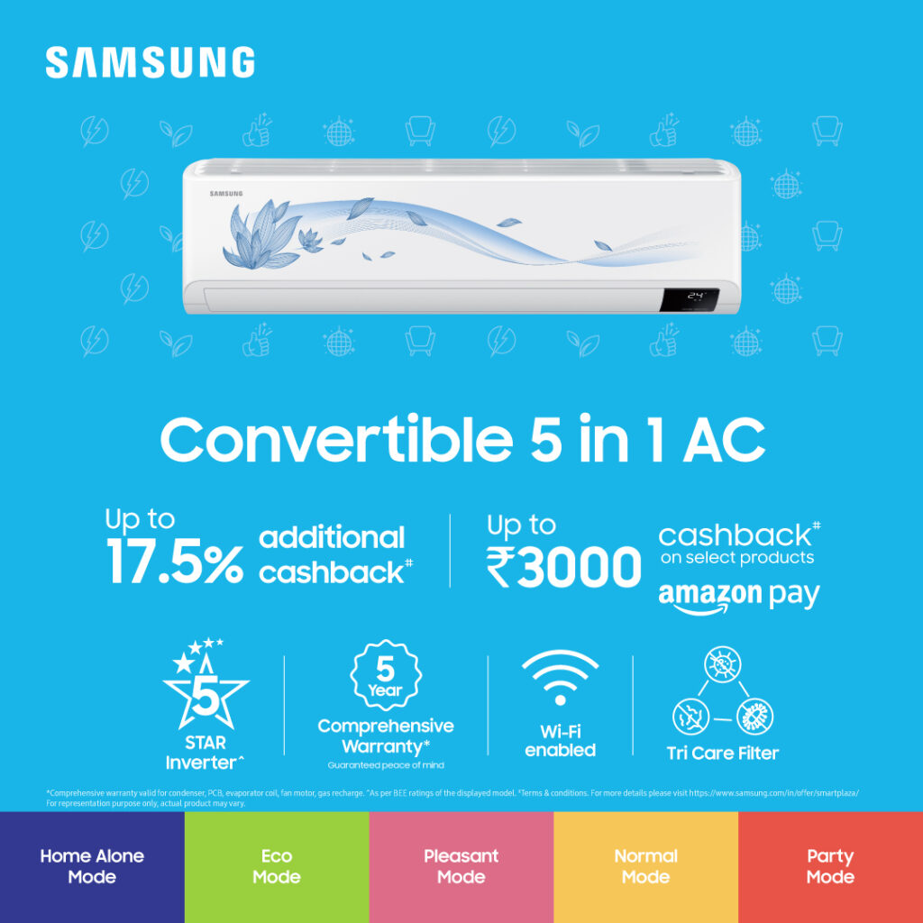 samsung convertible 5 in 1 ac
